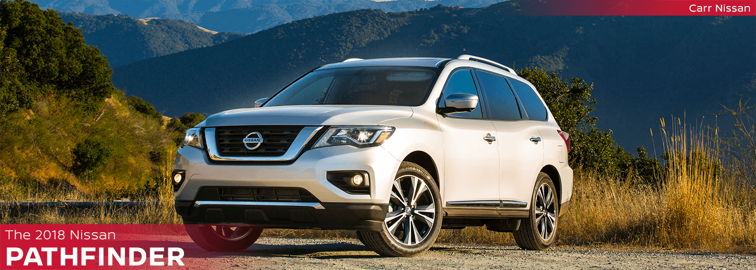 New 2018 Nissan Pathfinder Model Features & Information