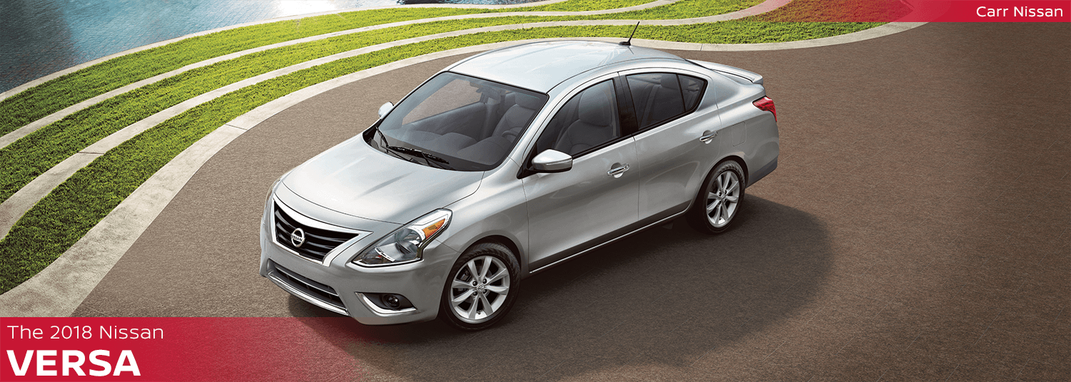 New 2018 Nissan Versa Model Features & Information