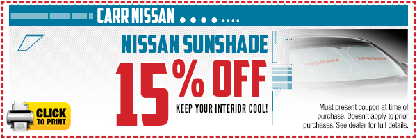 Click to print this Nissan sunshade parts special serving Tigard, OR