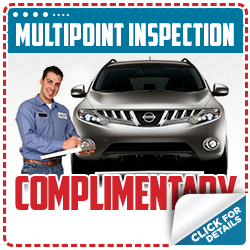 Nissan Multi-Point Inspection Service Special Serving Portland Area