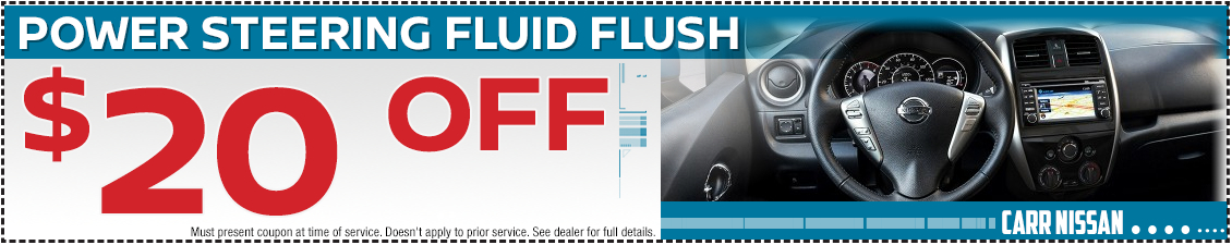 Nissan Power Steering Fluid Flush Service Special in Beaverton, OR