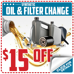 Click to save with our synthetic oil & filter change service special in Beaverton, OR