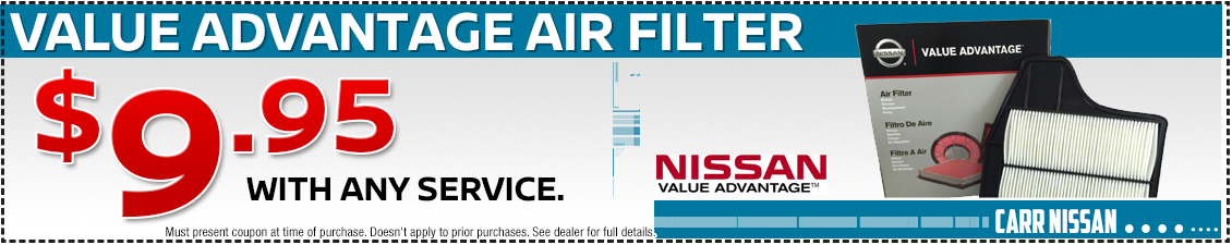 Nissan Engine Air Filters Parts Special in Beaverton, OR