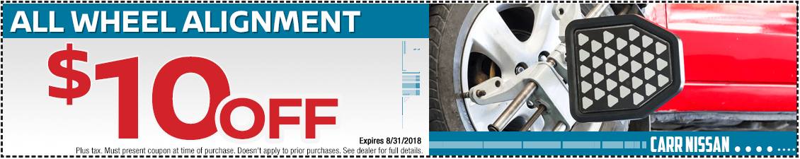 Nissan All-Wheel Alignment Service Special in Beaverton, OR