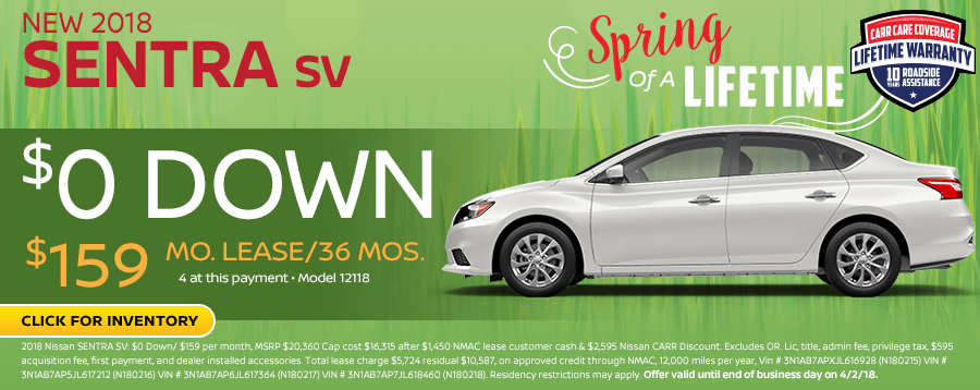 Save On This New 2018 Nissan Sentra In-Stock Now While Supplies Last in Beaverton, OR