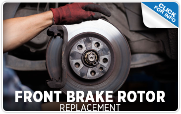 Click to learn more about our front brake rotor replacement service at Carr Subaru in Beaverton, OR