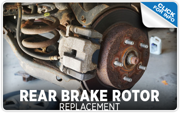 Click to learn more about our rear brake rotor replacement service at Carr Subaru in Beaverton, OR