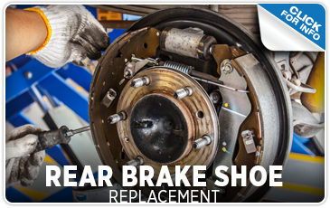 Click to learn more about our rear brake shoe replacement service at Carr Subaru in Beaverton, OR