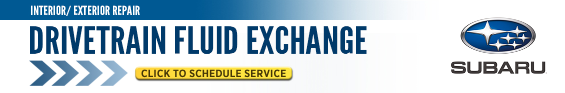 Click here to schedule your Subaru Drivetrain Fluid Exchange service in Beaverton, OR