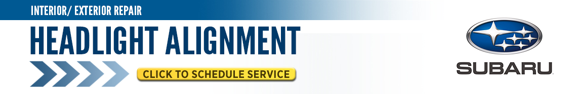 Click here to schedule your Subaru Headlight Alignment service in Beaverton, OR