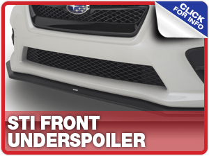 Click to view our STI Front Underspoiler information at Carr Subaru in Beaverton, OR