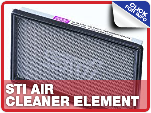 Click to learn more about Subaru STI Air Cleaner Element performance parts in Beaverton, OR