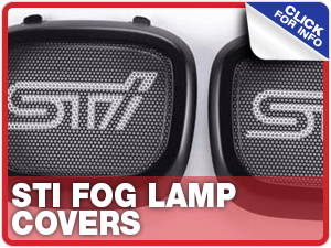 Click to learn more about Subaru STI Fog Lamp Covers performance parts in Beaverton, OR
