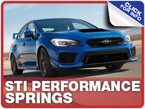 Learn about STI performance springs at Carr Subaru in Beaverton, OR