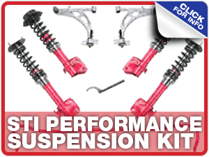 Click to learn more about STI performance suspension kits at Carr Subaru in Beaverton, OR