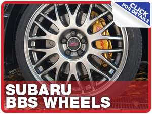 Click to learn more about Subaru BBS Wheels performance parts in Beaverton, OR