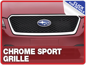 Click to learn more about Subaru Chrome Sport Grille parts in Beaverton, OR