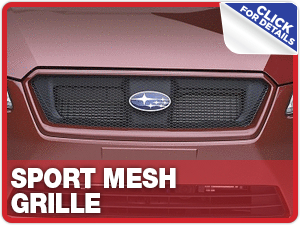 Click to learn more about Subaru Sport Mesh Grille parts in Beaverton, OR