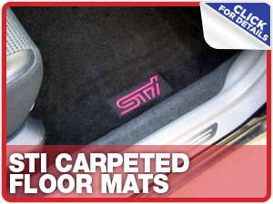Click to learn more about Subaru STI Carpeted Floor Mats parts in Beaverton, OR
