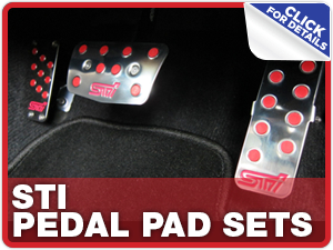 Click to learn more about Subaru STI Pedal Pad Sets performance parts in Beaverton, OR