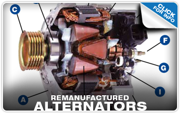 Click to find out more about genuine Subaru remanufactured alternators near Portland, OR