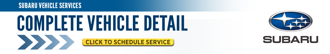 Click here to schedule your next Subaru complete vehicle detail service in Beaverton, OR