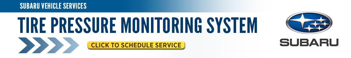 Subaru Tire Pressure Monitoring Service Information