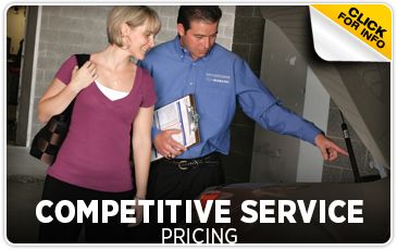 Click to learn more about our Subaru competitive pricing services in Beaverton, OR