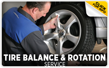 Click to learn more about our Subaru tire balance & rotation services in Beaverton, OR