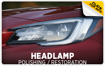 Click to learn more about Subaru headlamp polishing and restoration service in Beaverton, OR