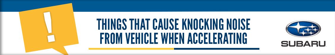 Carr Subaru Service >> 4 Reasons Your Car's Engine Is Knocking | Subaru Service in Beaverton