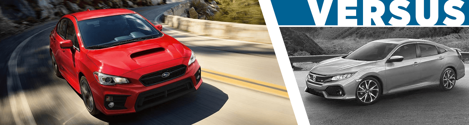 Compare The 2018 Subaru WRX vs Honda Civic Si Model Information