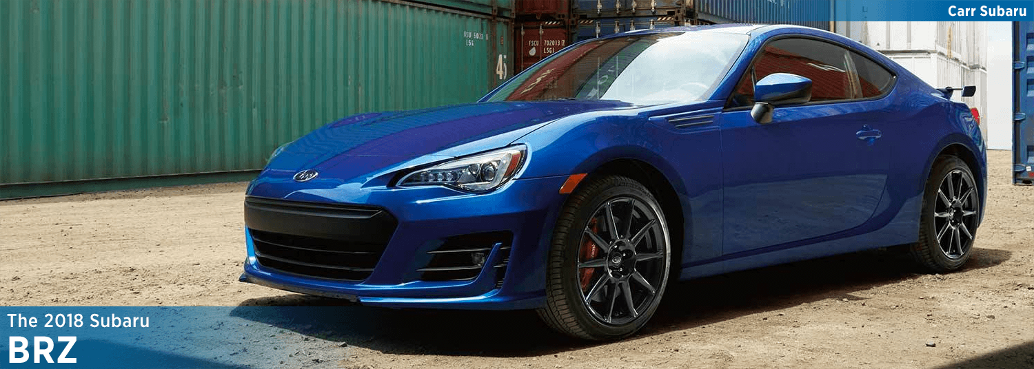 Learn About The New 2018 Subaru BRZ Model Features U0026 Details