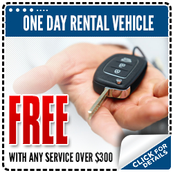 Subaru Free Rental Service Special serving Porland and Beaverton, OR