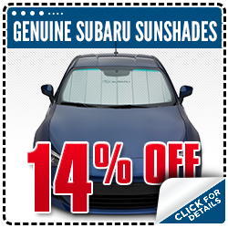 Click to Learn More About This Genuine Subaru Sun Shade Parts Special serving Tigard, OR