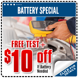 Click to view our battery service special at Carr Subaru in Beaverton, OR