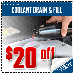 Click to view our coolant drain and refill service special at Carr Subaru in Beaverton, OR
