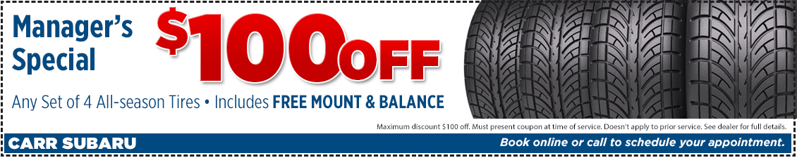 Click to Print This Manager's Tire Service Special in Beaverton, OR