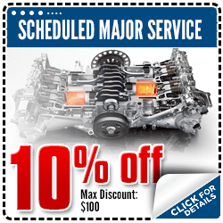 Click to view our scheduled major service special at Carr Subaru in Beaverton, OR