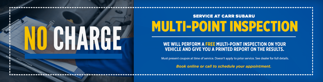Click to Print This Subaru Multi-Point Inspection Service Special in Beaverton, OR