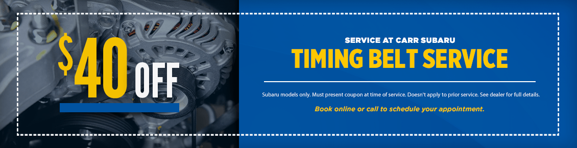 Click to Print This Subaru Timing Belt Replacement Service Special in Beaverton, OR