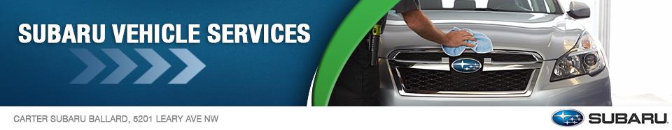 Popular Subaru Maintenance Services in Seattle, WA
