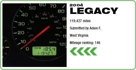 2004 Subaru Legacy - 119,427 miles
