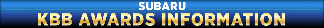 Subaru KBB Model Winners