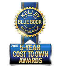 Subaru Kelley Blue Book 5-Year Cost To Own Award Winner