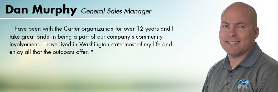 Dan Murphy, General Sales Manager at Carter Subaru Ballard in Seattle, WA