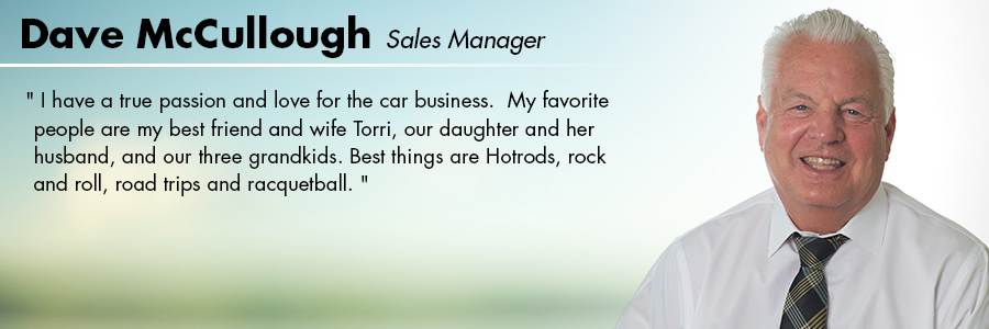 Dave McCullough, Sales Manager at Carter Subaru Ballard in Seattle, WA