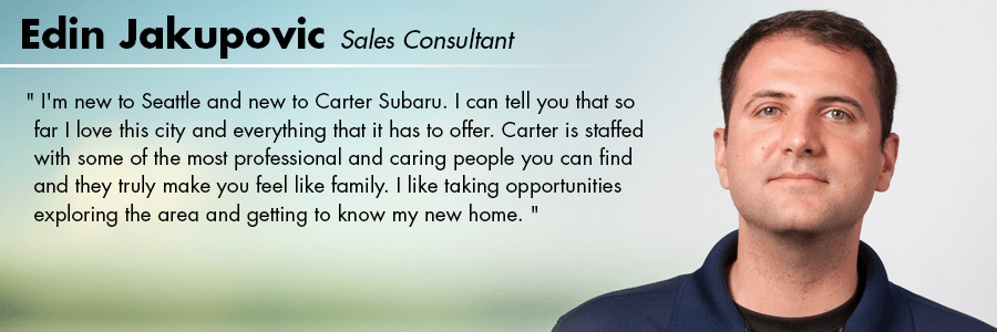 Edin Jakupovic - Sales Consultant at Carter Subaru Ballard in Seattle, WA
