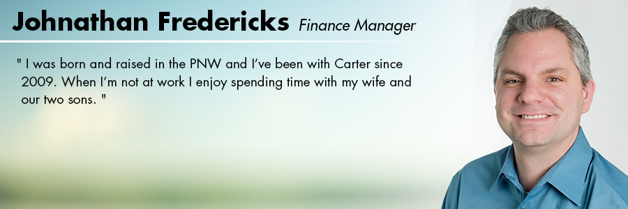 Jonathan Fredericks, Finance at Carter Subaru Ballard in Seattle, WA