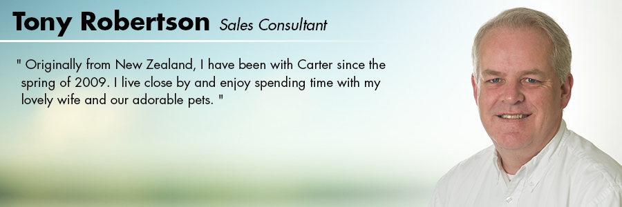 Tony Robertson, Sales Consultant at Carter Subaru Ballard in Seattle, WA